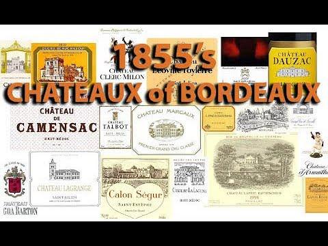 How To Say? 60+ Bordeaux 1855 Chateaux -  Wine Pronunciation