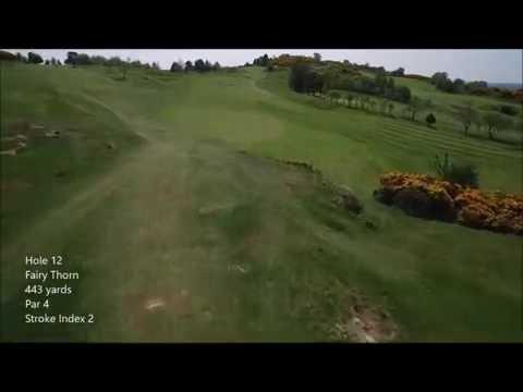 Scrabo Golf Course hole 12