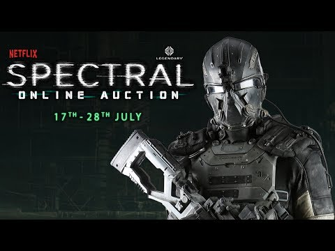 Prop Store's Spectral Auction - DARPA Armor and Plasma Rifle