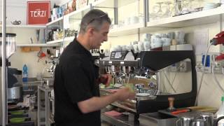 How To Make A Real Italian Cappuccino By Caffè Terzi, Bologna, Italy