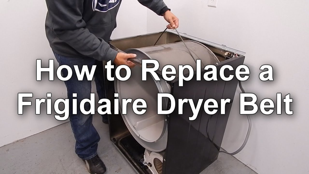 Replacing A Frigidaire Dryer Belt How To Guide You