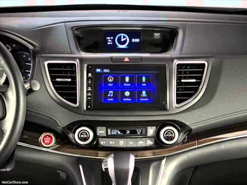 All New 2015 Honda CR-V Facelift US Spec Interior & Boot Space - YouTube