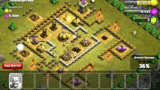 Clash of clans let's play osa 1 aloitus hyökkäys