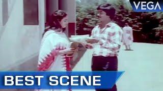 Murali Gives A Gift To Jayashree || Kalamellam Un Madiyil Tamil Movie || Best Scene