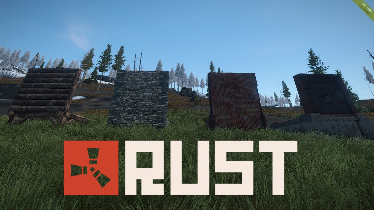 How To Stop Rust >> Rust Tips 'n Tricks | Testing C4 on Walls! (Old) - YouTube