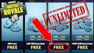 Fortnite Unlimited V-Bucks Glitch