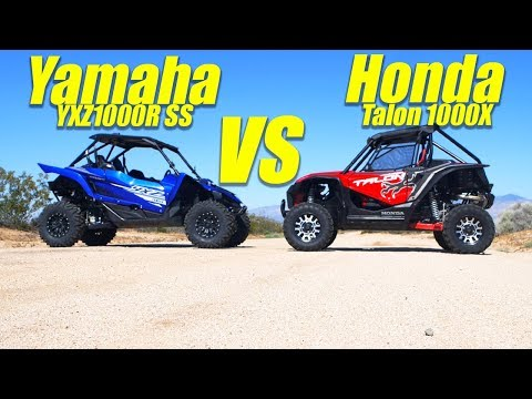 Yamaha YXZ vs Honda Talon - UTV Action Magazine