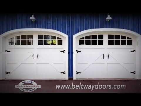 Garage Door Repair Service In Washington Dc Beltway Doors Youtube