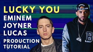 Production Tutorial: Eminem - Lucky You | Kick and 808 Balance
