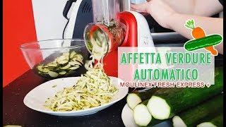 Proviamo il Moulinex Fresh Express - affetta verdure automatico