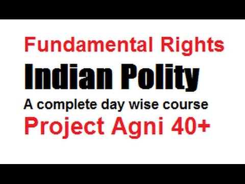 Fundamental Rights : Indian Polity (Hindi)