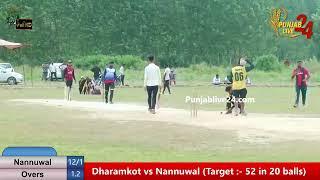 Panyali Khurad  Cosco Cricket Cup 2019 Part-1