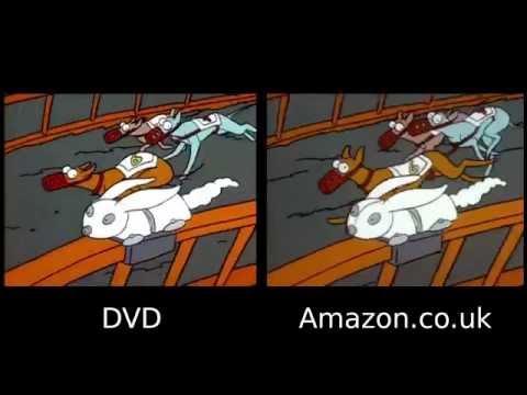 DVD vs Amazon - The Simpsons (1989)