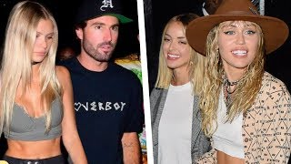 Miley Cyrus and Kaitlynn Carter Were at the SAME VMA After-Party as Brody Jenner!