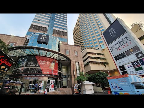 (CHEAPEST OUTLET) IN SILOM, BANGKOK TO BUY BRANDS [SNEAKERS] JTS BUILDING (HOLIDAY INN HOTEL) PART 1