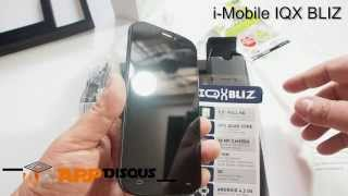 Appdisqus Review : แกะกล่อง i-Mobile IQX BLIZ เครื่องขายไทย