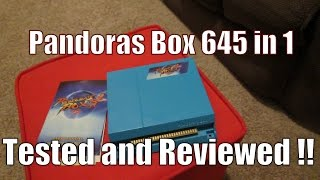 Pandoras Box 4 - 651 in 1 Jamma Multi Game Board - Tested and Reviewed