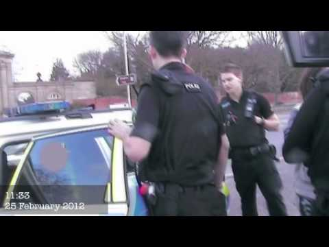 Hunt Saboteur Assaulted By Police