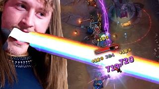 LASER POWER !!! | Lux Midlane [edit. Gameplay] [GER]