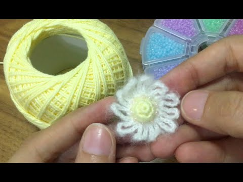 crochet tutorial of super easy and fast ear tops || crochet Jewelry