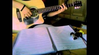 Rainie Yang(杨丞琳) - Ai Mei(暧昧) guitar cover
