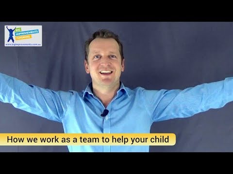 How we work as a team to help your child at Big Improvements Tutoring