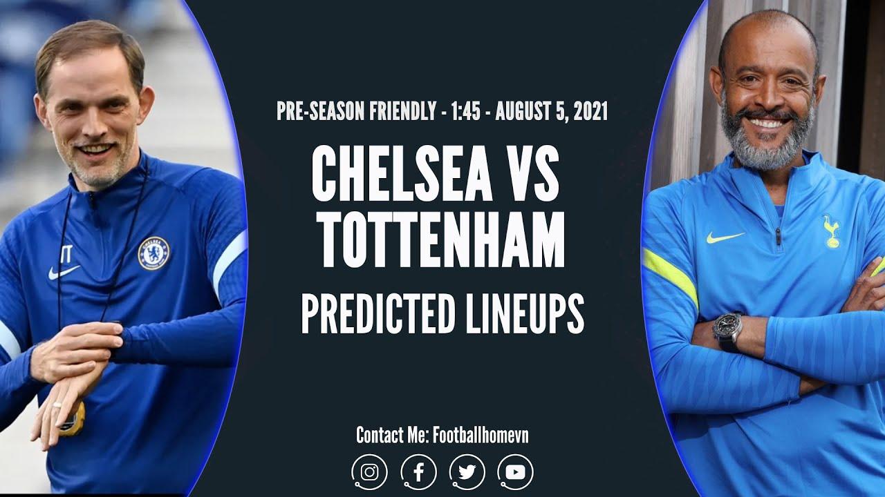 Chelsea line up vs Tottenham | Official Site | Chelsea Football Club