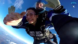 Sarah Kishawi on her 25th Birthday: Sky Diving
