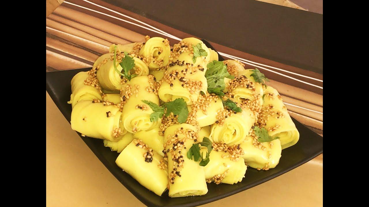 Khandvi Recipe VideoSurali Wadi or Suralichi Vadi Recipe