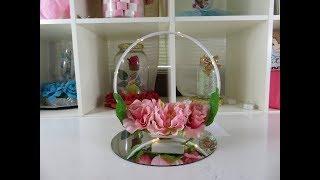 Centro de mesa con flores para cualquier evento especial