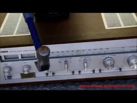 Yamaha cr 1040 vintage receiver demonstration doovi for Yamaha amplifier receiver