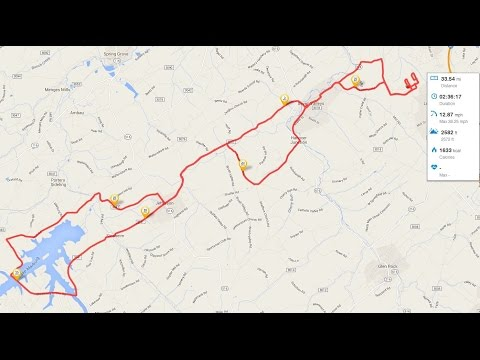 Cycling Scenery 2hr PA  7 Valleys, Jefferson Codorus, Hanover Junction