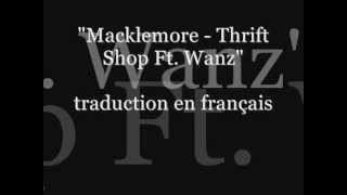 Macklemore - Thift Shop (lyrics français) + téléchargement