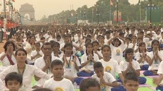 India ties itself in knots over International Yoga Day