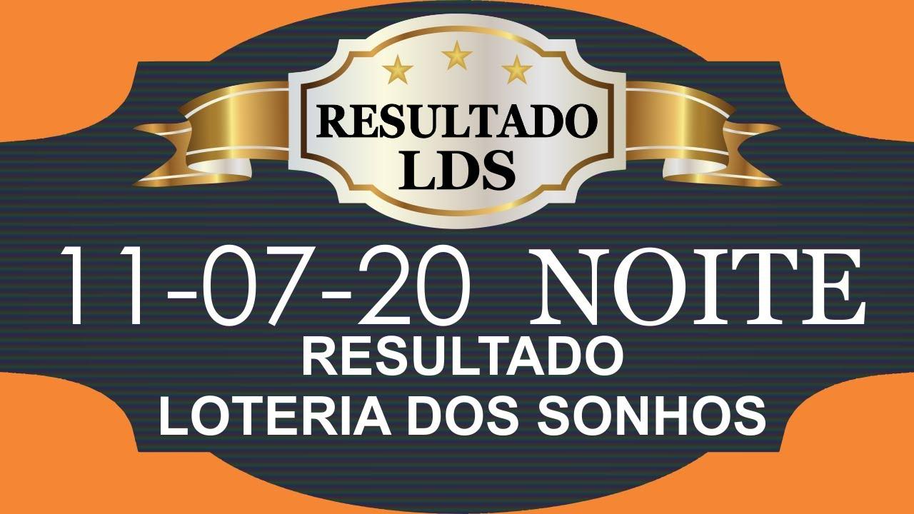 Loteria dos Sonhos Dia 11 07 20 Noite