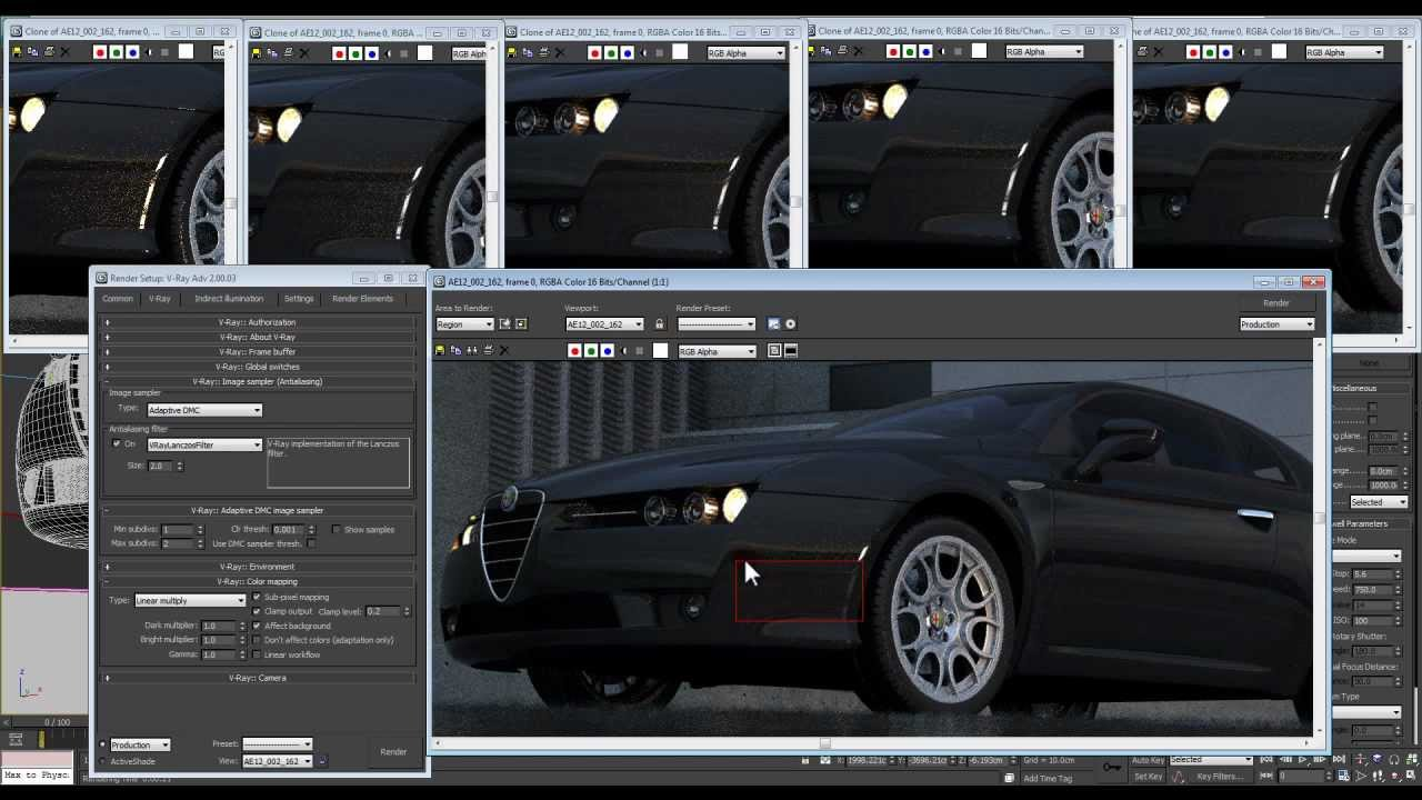Vray Tutorial Fast Render Optimized Settings Vray Secrets Tips And Ticks Final Output