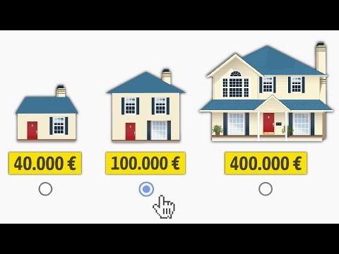 Wieviel Haus kannst du dir leisten?