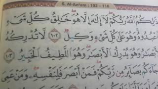 AL-QURAN Surah Al-An'am Ayat 102 dan Terjemah