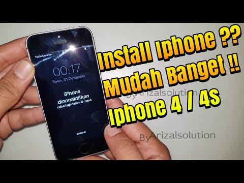 cara buka icloud iphone 4 tanpa pc.