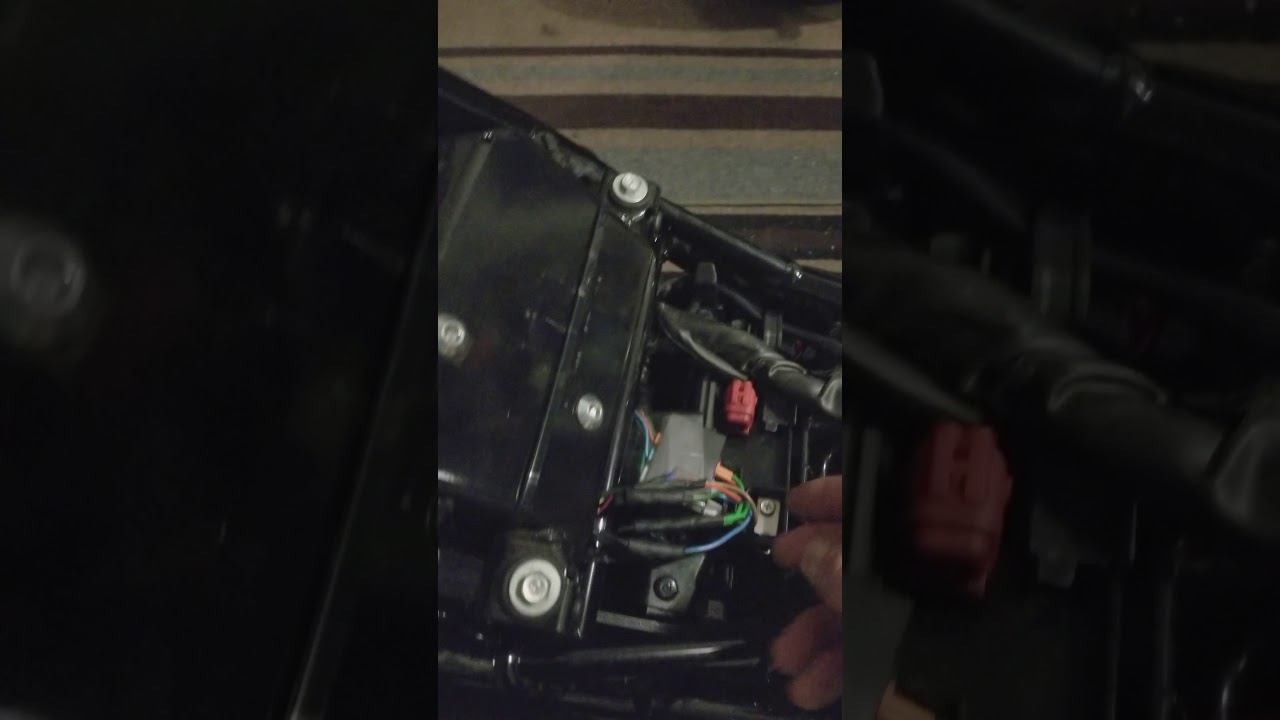 Rebel 500 Short Rear Fender Wiring Youtube Honda Diagram