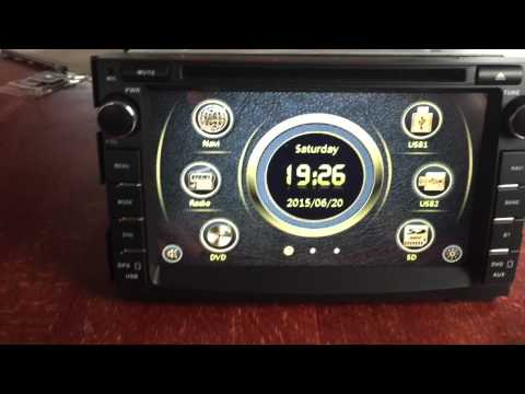 Multimedia radio Kia Ceed model 2007-2011
