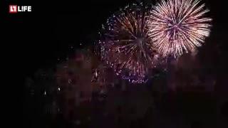 Невероятное световое шоу в Москве