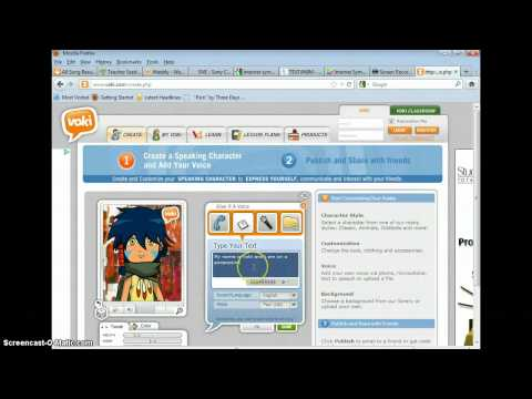 Inserting a Voki into a Powerpoint