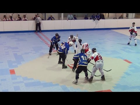 Surrey Stars vs. Langley Vipers (05/30/15) Roller Hockey Inl