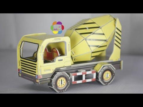 لعبة عربية الخرسانة للاولاد والبنات والعاب البازل للاطفال Concrete Car puzzle