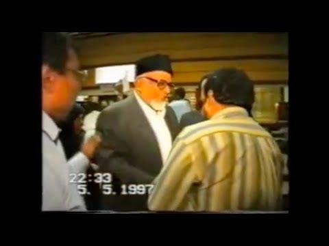 Arrivée marhum Mulla Asghar M.M.Jaffer à Tananarive - 05/05/1997