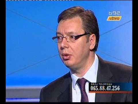 26.01.2014. B92 Utisak nedelje Gost Aleksandar Vučić