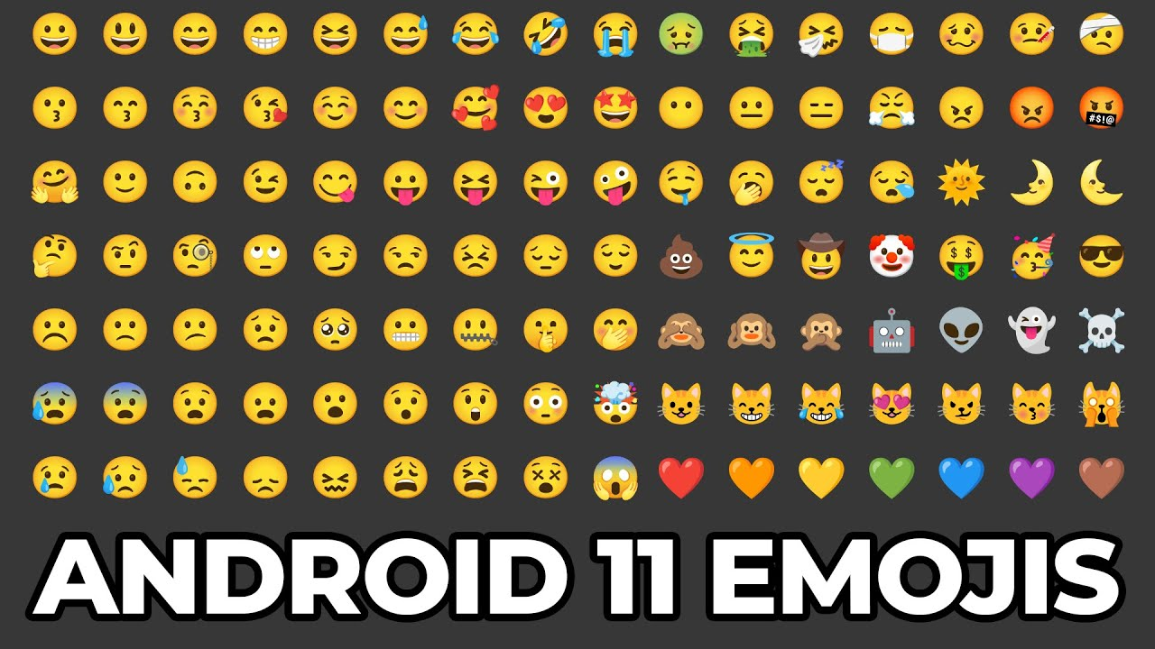 Android 11 Emoji Set (Magisk Module - Root)