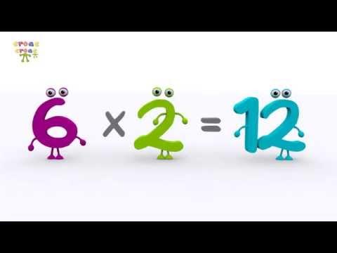 La tabla del 6 - NUEVO. Ejercicios de matemática para niños