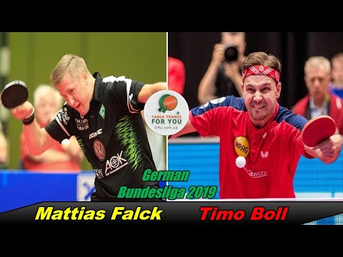 Timo Boll Vs Mattias Falck II German Bundesliga 2019-2020